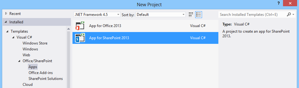 Now Available: Office Developer Tools for Visual Studio 2012 ...